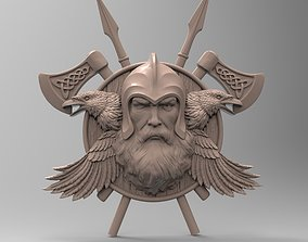 3D printable model Odin panel by Scandinavian