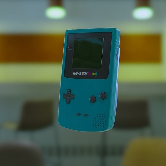 GAMEBOY Colour | CG Asset