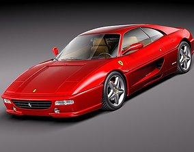 fast Ferrari F355 1994-1999 3D model