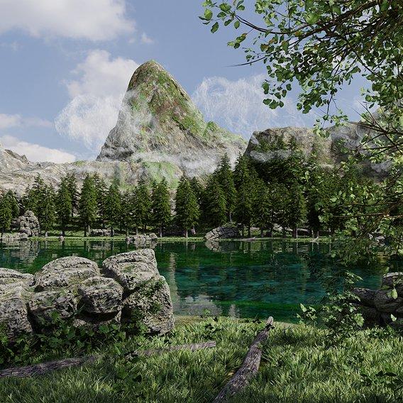 Lake Scene | Scene 52
