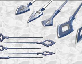 Japanese arrow head set 2 3D printable model