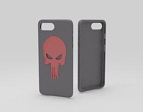 3D print model cases iphone 7 plus black dead thema