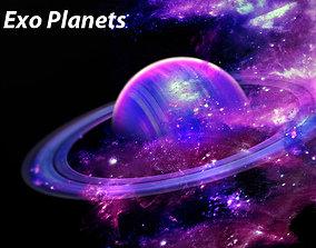 exo planet 3D model