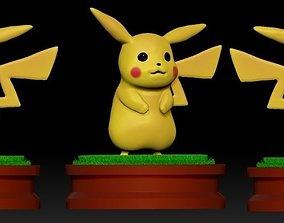 Pikachu desenho 3D model