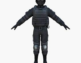 Navy Seals Close Quarter Battle Uniform 3D