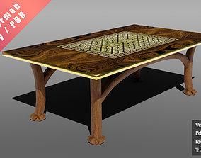3D model Table - Tisch Roman Style