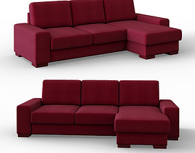 3D model Manchester sofa corner