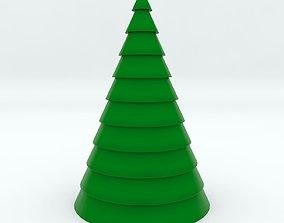 3D model FREE Cartoon Christmas Tree