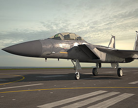 3D model McDonnell Douglas F-15 Eagle