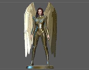 WONDERWOMAN 1984 GOLDEN ARMOR STATUE DC 3D print model 3