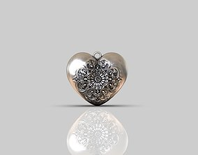 Hearts LOVE pendants 3D printable model