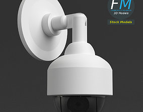 3D Wall mounted dome surveillance camera
