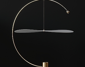 Ladies and Gentlemen FLOAT ROUND Pendant Light 3D