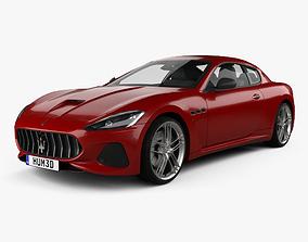 3D Maserati GranTurismo MC 2017