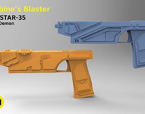 Sabine Wren from Star Wars - 2 Blasters 3D print model