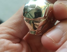 Iron Man Ring 3D Printing Model reflection