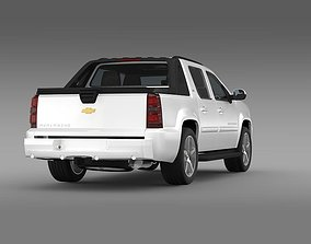 3D Chevrolet Avalanche LTZ 2010