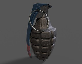 3D MkII Pineapple Fragmentation Grenade