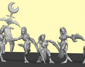 Pleasure Demon set 1 3D printable model girls