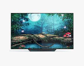 3D model LG OLED65B8PUA OLED Smart TV