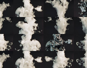 Smoke Pack 50 Models 3D