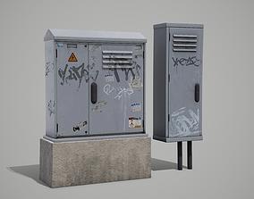 3D asset Street Fuse Box