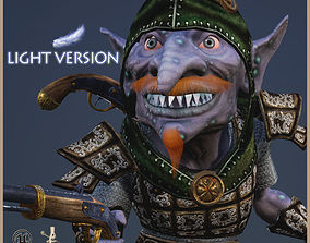 3D asset Goblin Bandit Light Version