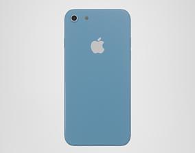 iPhone 8 - Blue 3D asset