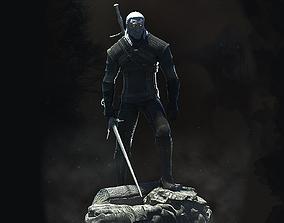 3D print model Geralt the Witcher