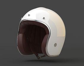 3D asset Motorcycle Helmet