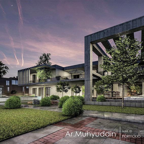 Modern Farmhouses | Facade Design