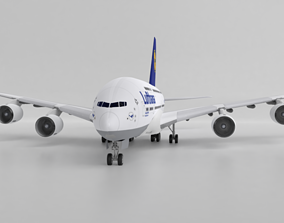 Airbus 380 -Lufthansa 3D