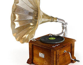 3D model Phonograph