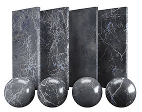 Grey Emperador Marble Texture PBR Vray Corona 3D asset 3