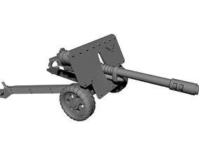 28mm auto cannon 3D printable model