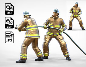 N3 Firefighters or firemans 3D printable model 1