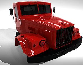 KRAZ 256 3D print model