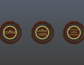 3D Symbols of coffee