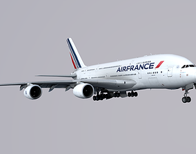 3D model Airbus A380 AIRFRANCE