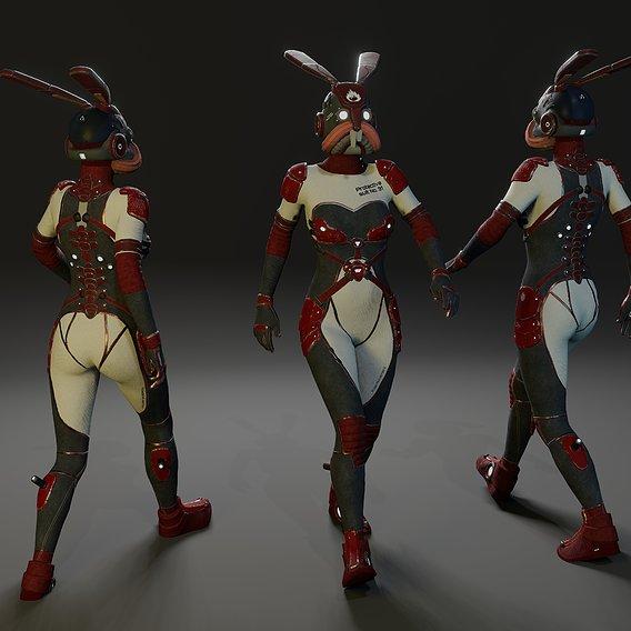 """Sci Fi Suit """"Rabbit"""""""