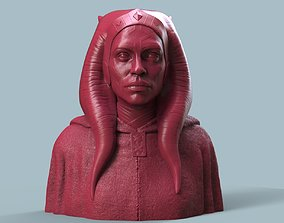 darth 3D printable model Ahsoka Tano Rosario Dawson