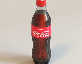 3D Coca-Cola bottle
