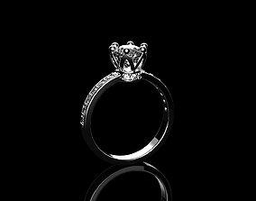 3D printable model crown-ring Ring Crown