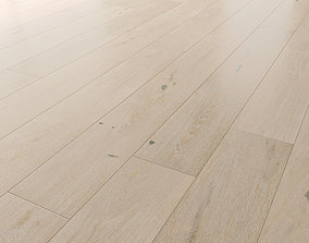 Wood floor Oak Merletto Brushed 3D model