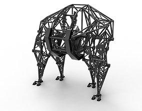 3D model Powered exoskeleton prosthesis
