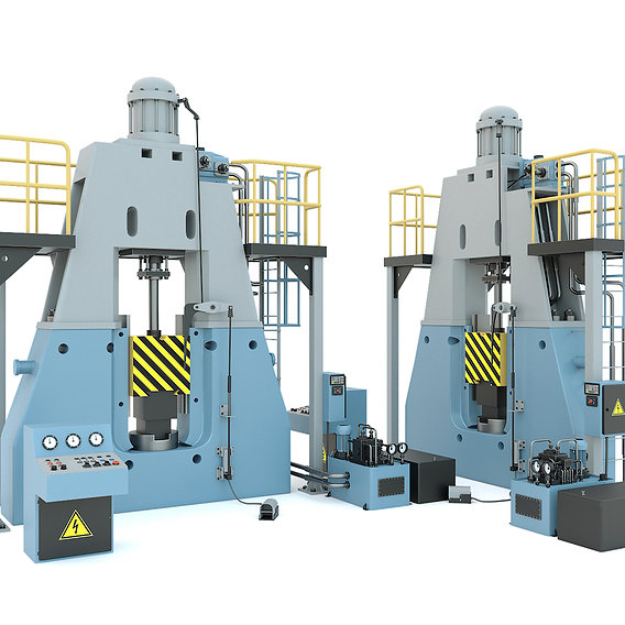 Industrial machine tool - MA2145 Forging hammer press-stamping