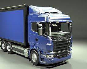 3D model Scania R 730 Box Truck