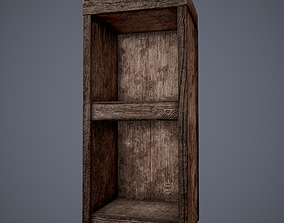 Wooden Tavern Stand 3D model