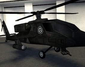 SCP Apache Helicopter ---ORIGINAL--- 3D model