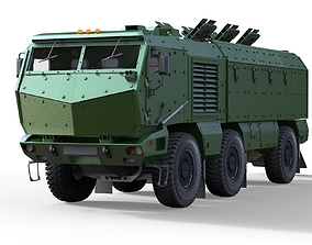Kamaz Typhoon Truck 3D